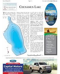 Lake Of The Day Chunamun Lake Alaska Highway News