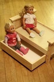 dolls ready for a sleepover