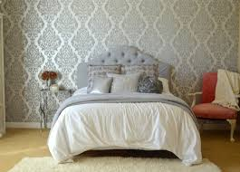 Silver Wallpaper For Bedroom Glam Silver And White Teen Girl Bedroom Makeover Rachel Teodoro
