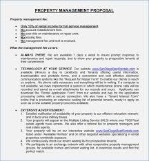 Property Management Proposal Template Property Management Proposal ...