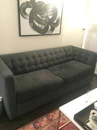 used west elm furniture. Contemporary Used Used West Elm Furniture Sofa Shadow Performance Velvet In New Regarding  Best Sale F