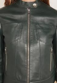 pontente pure leather jacket
