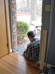 replacing a front doorfront door  Megans Moments