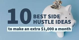 best side hustles to make extra money
