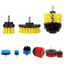 image is loading 3pcs power full electric bristle drill scrubber brush
