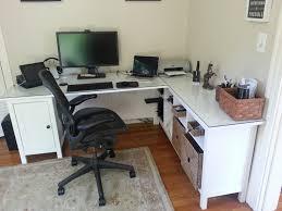 Cozy Ideas About Ikea Desk On Office Ideas About Ikea Desk On Office L  Shaped Computer