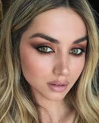 bronze makeup look 26 with bronze makeup look