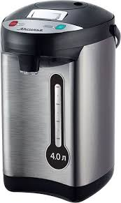 Чайник-термос 4 л <b>АКСИНЬЯ КС</b>-<b>1802</b> : 800 Вт, нерж.корпус, 3 ...