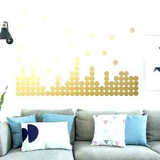 gold heart wall decals polka dots stickers vinyl round rose decal nz