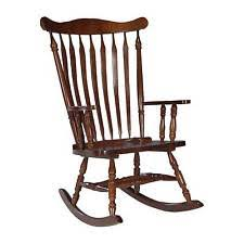 wooden rocking chair. rocking chair solid wood cherry - international concepts wooden u