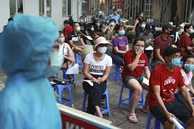 Vietnam's health ministry on saturday said it has detected a new variant of the coronavirus that is a mix of the virulent indian and uk variants, and spreads quickly by air, health minister nguyen. Vietnam Reports More Than 3 Dozen New Cases 3rd Death