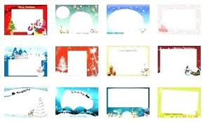 Free Holiday Photo Greeting Cards Free Greeting Card Templates For Microsoft Word Holiday
