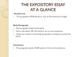 expository essay sophomore essay ppt video online  the expository essay at a glance