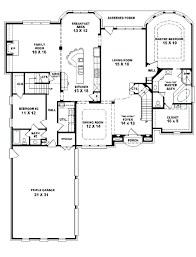 One Story 4 Bedroom House Floor Plans Floor Plans 4 Bedroom 2 Story 4  Bedroom House