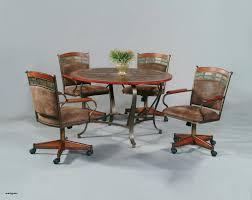 kitchen table with caster chairs new dining sets with caster chairs inspirational mid century od 49
