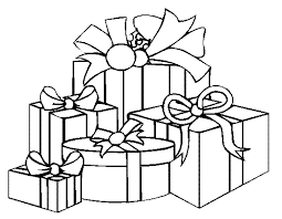 Small Picture Printable Coloring Pages Christmas Presents Free Christmas