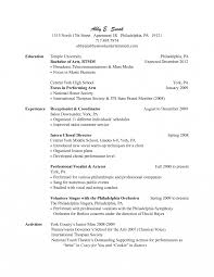 Receptionist Resume Examples Medical Receptionist Resume Examples 100 Templates Salon 88