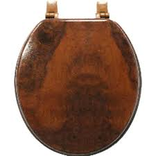 solid walnut toilet seat wooden seats wood grain cherry color standard round elongated r