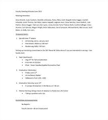 Meeting Recap Template Minutes Of Meeting Format Awesome Sample Summary Template