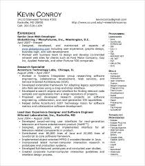 Java Resume Sample Megakravmaga Com
