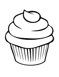 Coloriage Cupcake Imprimer Dessins Pinterest Cupcake