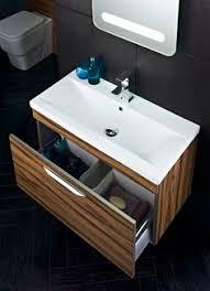 gloss gloss modular bathroom. This Wall Hung Memoir Unit In Gloss Walnut Has A Large Soft Close Drawer, With Modular Bathroom R