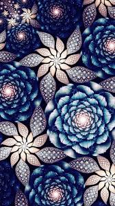 Beautiful flowers, abstract fractals ...