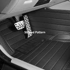 custom fit heavy duty faux leather car floor mats for cadillac cts sedan 2008 2019