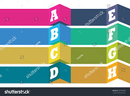 Creative Index Page Design Vector Abstract Background Creative Page Layout Stock Vector