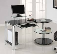 ikea glass office desk office interior furniture computer desk sale modern affordable furniture home office ikea black glass office desk 1
