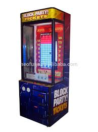 Stacker Vending Machine Enchanting Block Party Stacker Redemption Machine Block Party Stacker