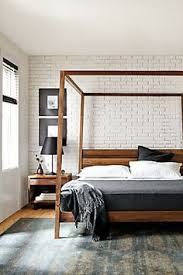 best modern bedroom furniture. A Modern Canopy Bed With The Warmth Of Solid Wood, Our Hale Creates Best Bedroom Furniture