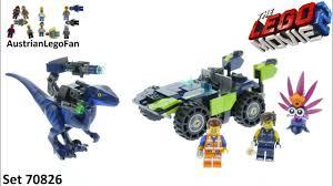 <b>Lego Movie</b> 2 <b>70826</b> Rex´s Rex-treme Offroader! - <b>Lego 70826</b> ...