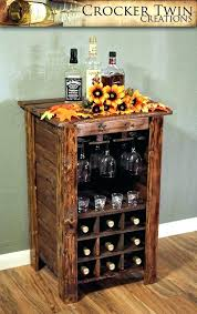 standing wine rack. Awesome Wall Wine Cabinet Rustic Rack Standing By Twin Creations Wood