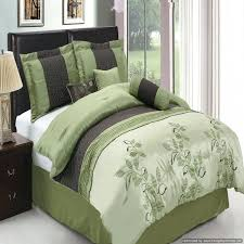 purple and green bedding tradition sage green 7 comforter set regarding purple and green bedding purple
