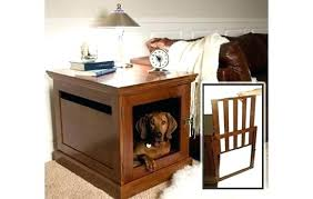 dog crates as furniture. Furniture Dog Crates Crate Bench Bed Large Canada As
