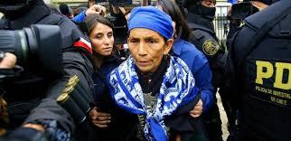 Resultado de imagen para 103 días en huelga de hambre de activistas mapuche en Chile