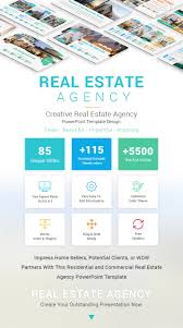 Powerpoint Real Estate Templates Real Estate Agency Powerpoint Template Designs Slidesalad