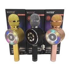 Chuyên nghiệp Bluetooth Micro Không Dây Micro Hát Karaoke Loa Cầm Tay Nghe  Nhạc MIC Hát Đầu Ghi KTV Micro|Míc