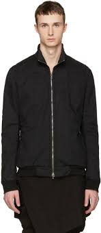 julius black seamed jacket men julius clothing competitive