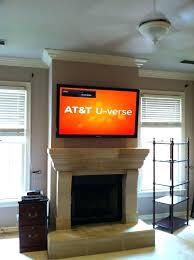 hanging tv over fireplace mounting above fireplace full size of mounting over gas fireplace how far