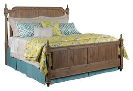 Kincaid Bedroom Furniture Weatherford Westland Queen Poster Bed In Grey Heather