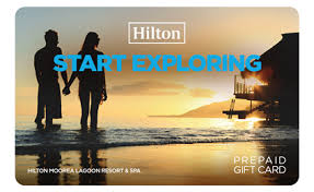 start exploring with hilton gift card