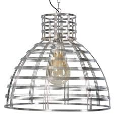 Moderne Hanglamp Molfetta Chroom En Zwart Draad Staal 05 Hl4422 11