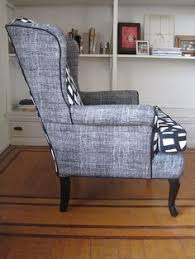 custom made wingback chair