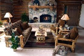western living room furniture. Lodge Style Living Room Furniture Stylish Western Cabin