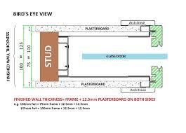 eclisse glass sliding pocket door system