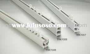 plastic curtain track in