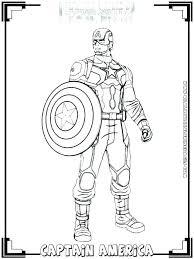 Captain America Coloring Pages Noticiasdemexicoinfo