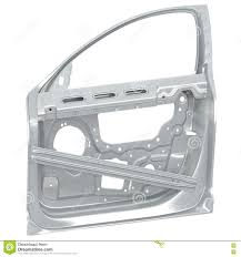 car door frame on white 3d ilration stock ilration ilration of ody